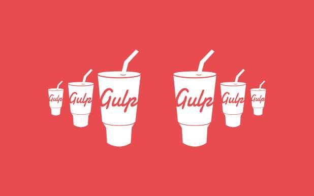 gulpjs-logo-wallpaper